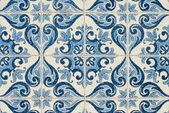 Portuguese glazed tiles 223 — Stock Photo