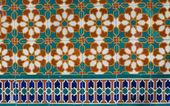 Portuguese glazed tiles 230 — Stock Photo