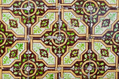 Portuguese glazed tiles 239 — Stock fotografie