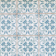 Traditional Portuguese glazed tiles — Stock fotografie