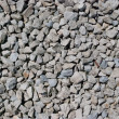 Close up of rough gravel — Stock Photo