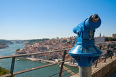 Wide view of the city of Porto — Stock Photo