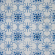 Traditional Portuguese glazed tiles — Photo