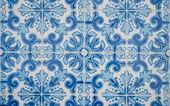 Traditionele portugese geglazuurde tegels — Stockfoto