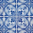 Traditional Portuguese glazed tiles — Stockfoto