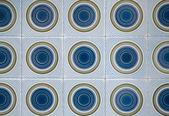 традиционная португальская глазурованная плитка — Стоковое фото