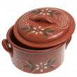 Foto Stock: Clay pot for cooking