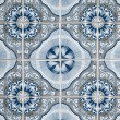 Portuguese glazed tiles — Stock Photo #3759175