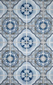 Portuguese glazed tiles — Stock Photo