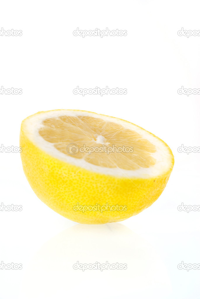 Lemon isolated on white background. — Stock Photo #3759178