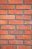 Red brick wall texture — Стоковое фото