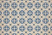 Portuguese glazed tiles. — Stock Photo