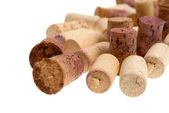 Corks from bottles guilt — Stock Photo