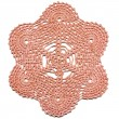 Hand made crocheted doily — Stock Photo #3883931