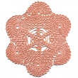 Stock Photo: Hand made crocheted doily