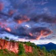 Royalty-Free Stock Photo: Red Rocks in High Dynamic Range