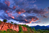 Red Rocks in High Dynamic Range — Stock Photo
