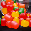 Candy spilling — Stock Photo