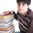 The young student with the books — Stock Photo #2956392