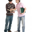 The two young students — Stock Photo #2956424