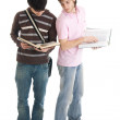 The two young students — Stock Photo #2956425