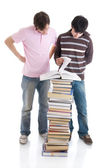 The two young students — Stock Photo