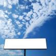 Blank billboard - Foto de Stock