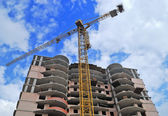Building constructions — Stock Photo