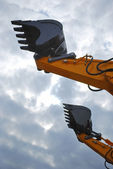 Scoop of power-shovel — Stock Photo