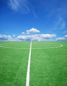 Soccer or football theme — Stock Photo