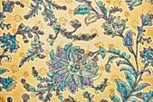 Decorative pattern in Indian style — Stock Photo