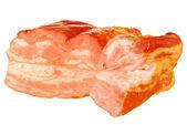 Stück geräuchertes fleisch — Stockfoto