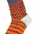 Gift woolen sock — Stock Photo