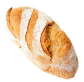 Bread on a white background — Stok fotoğraf