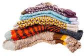 Gift woolen socks — Stock Photo