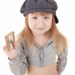 Child in cap — Stock Photo