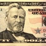 50 United States (US) dollars — Stock Photo
