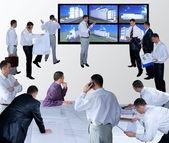 Designer de produção reunião — Foto Stock