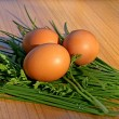 Stock Photo: Hen's egg