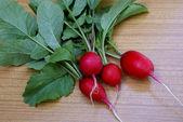 Garden radish — Stock Photo