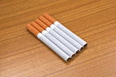 Smoking a bad habit which fatally influences your health — Stock Photo