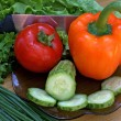 Appetizing vegetables - Stock Photo