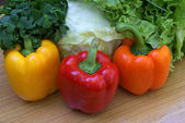 Appetizing vegetables — Stock Photo