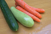 Palatable vegetables — Stock Photo