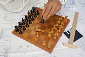 Jeu d'échecs — Photo