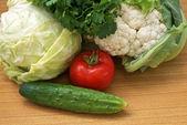 Palatable vegetables food — Stock Photo