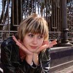 Portrait girl — Stock Photo
