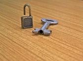 Opened lock — Zdjęcie stockowe