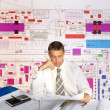 Engineer- planner - Foto Stock