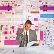 Engineer- planner — Stock Photo #3237758